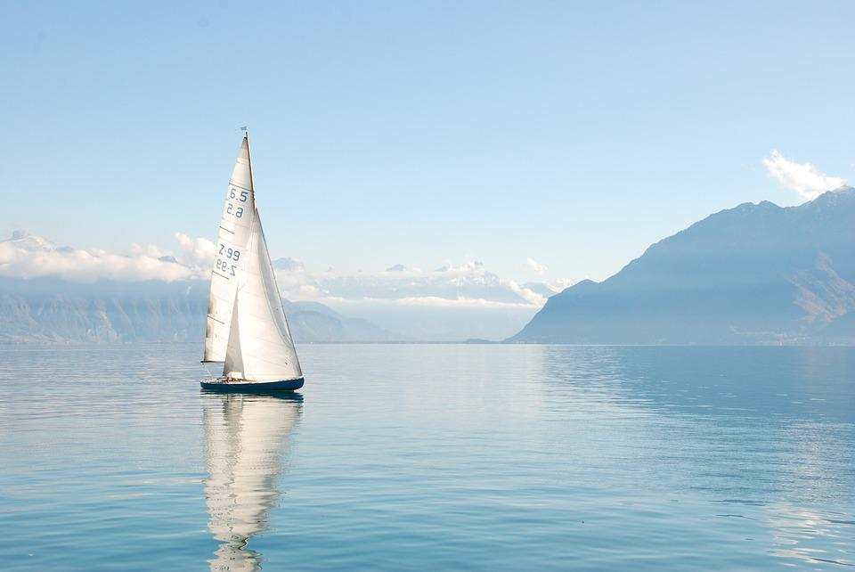 Lake, Boat, Water, Sailing Boat, Sailing Vessel