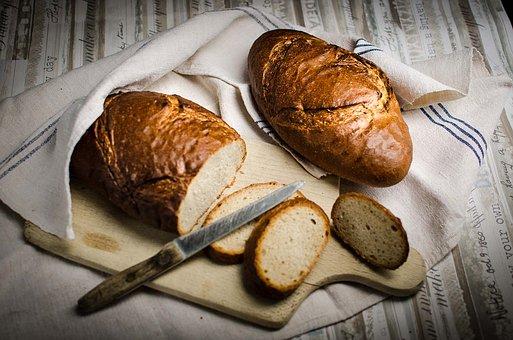 Bakery, Baker, Bread, Heart, Baked Srcom