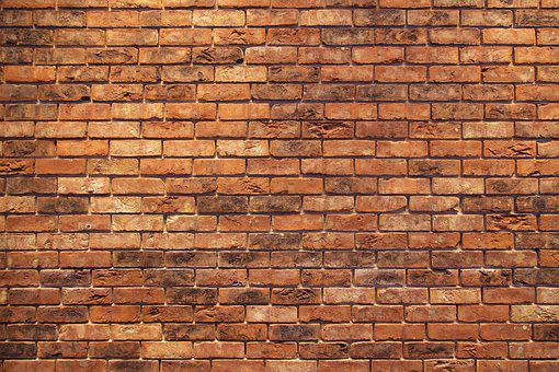 Brick Wall Red Background Structure Masonr