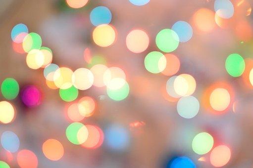 colorful light, bubble lamp