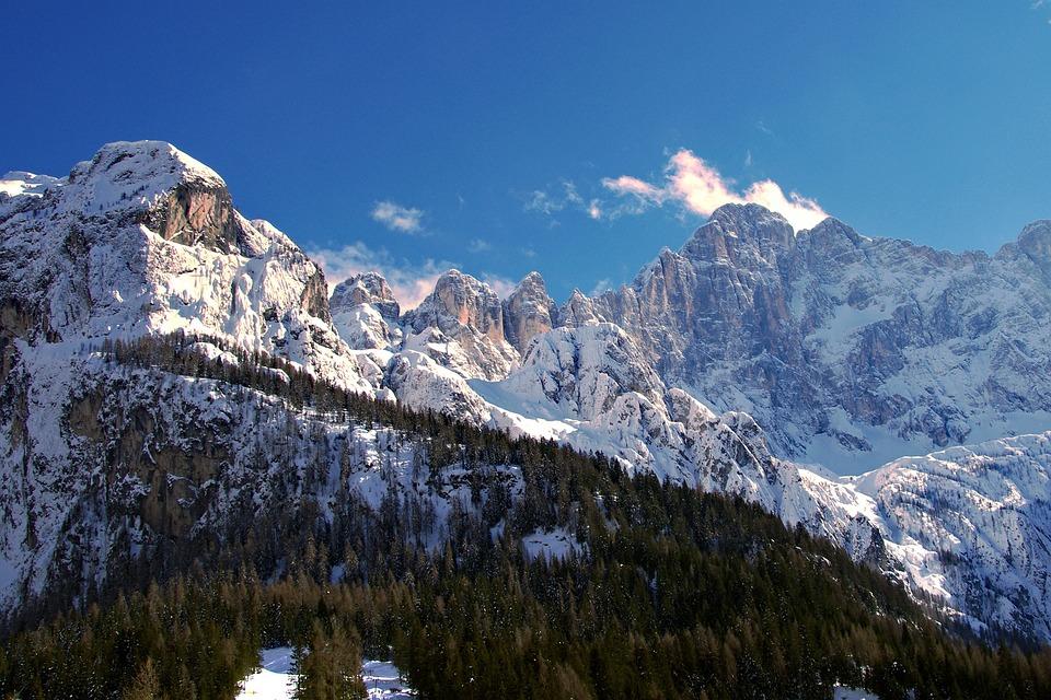 Alleghe, Dolomity, Monte Civetta, Sci