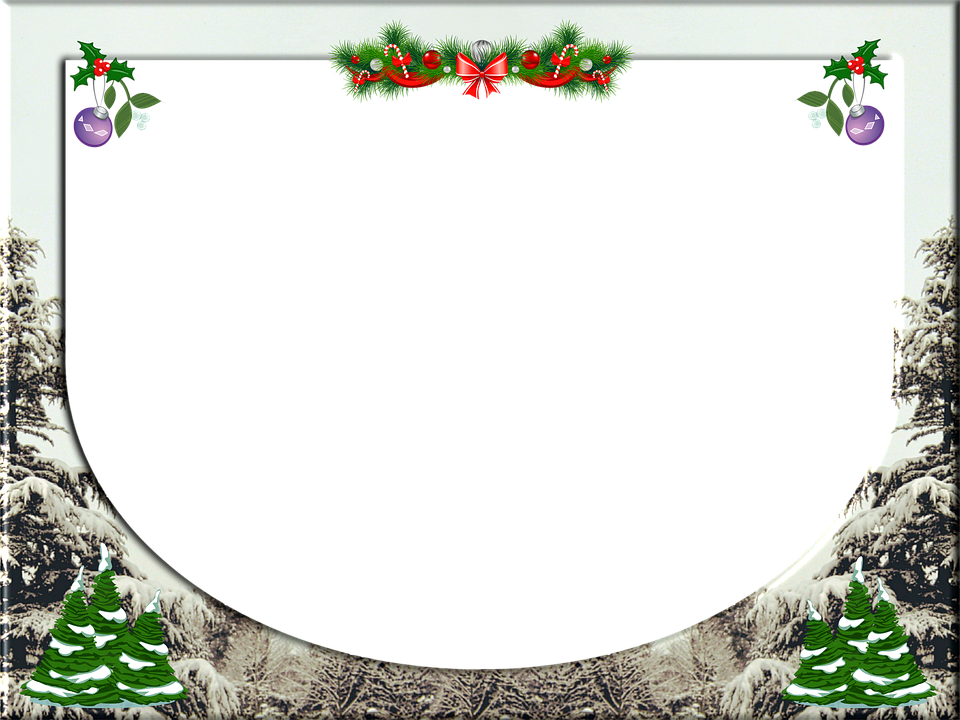 Christmas Frame Holly · Free image on Pixabay