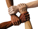 hand, united