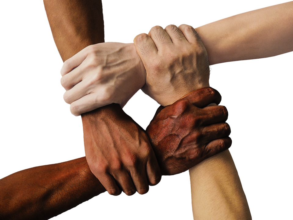Hands, Team, United, Together, People, Unity