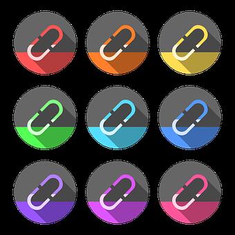 Hyperlink, Paper Clip, Links