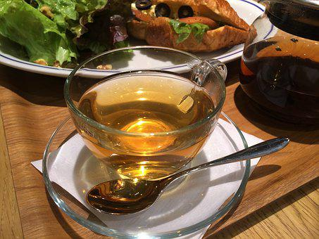 Tea, Earl Grey, Glass Cup, Transparency