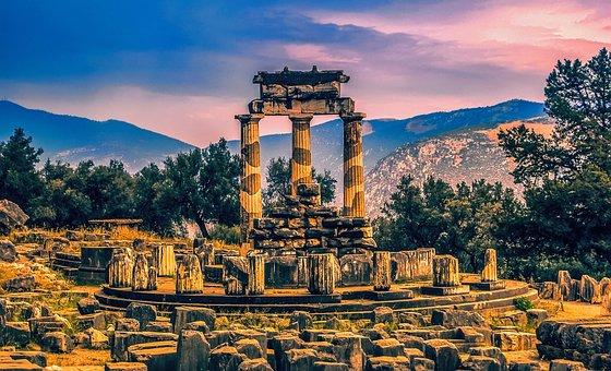 Vista de Delfos Grecia