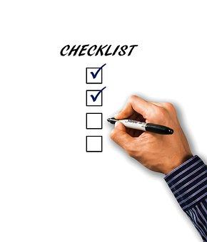 Liste De Vérification, Liste, Main