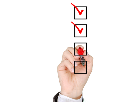 Checklist List Check Mark Business Qu