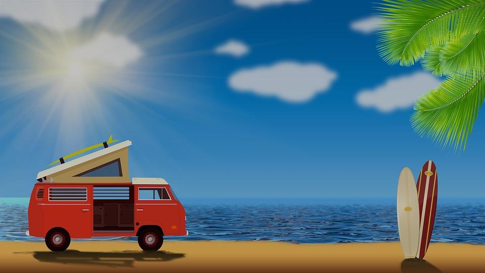 Vanagon, Volkswagon, Kombi, Van, Van De Surf, Surf