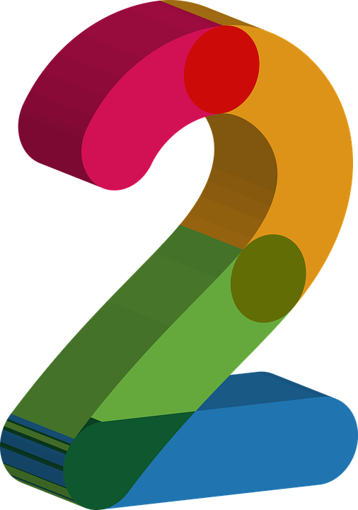 number two 2 free image on pixabay