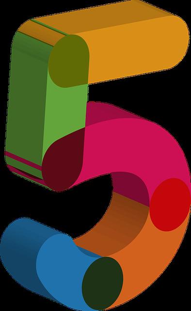 Number Five 5 · Free image on Pixabay