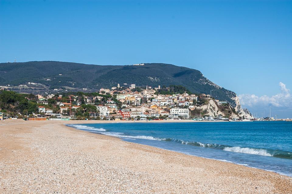 Sirolo, Monte Conero, Conero, Strand, Riva, Marche