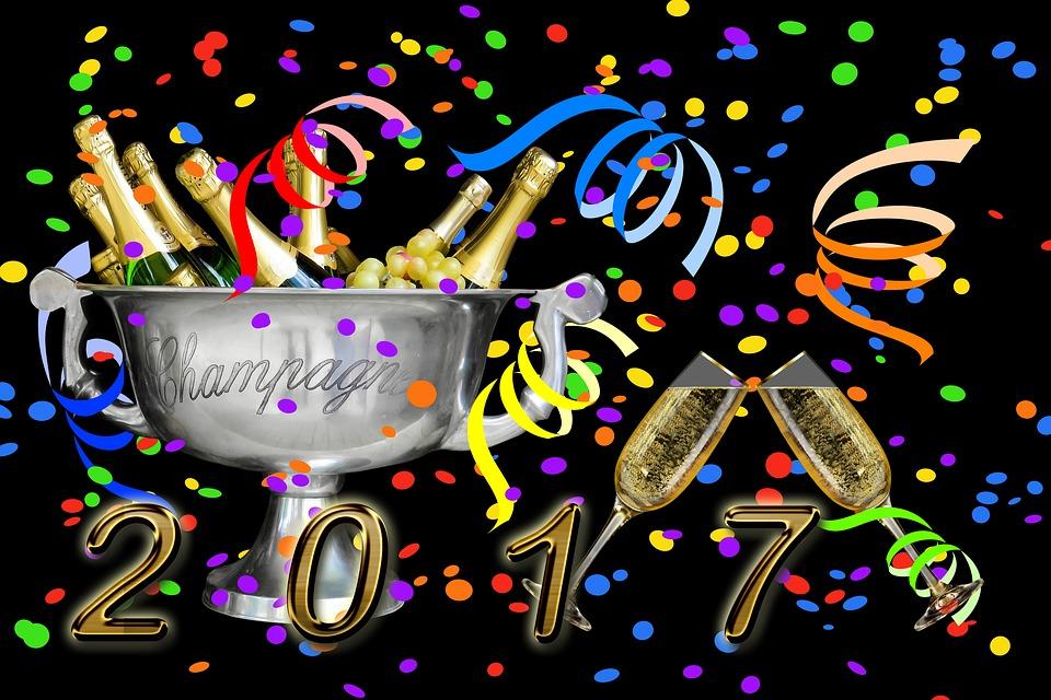 Uuden vuoden juhlat ovat täällä taas, perinteiseen tapaan!