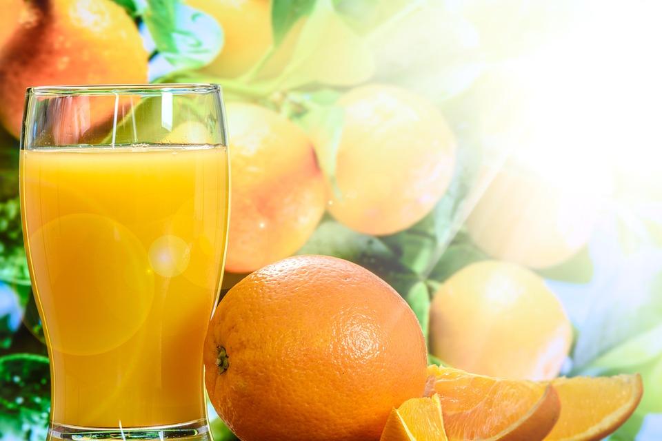 Naranja, Jugo, Vitamina C, Saludable, Fruta, Agrios
