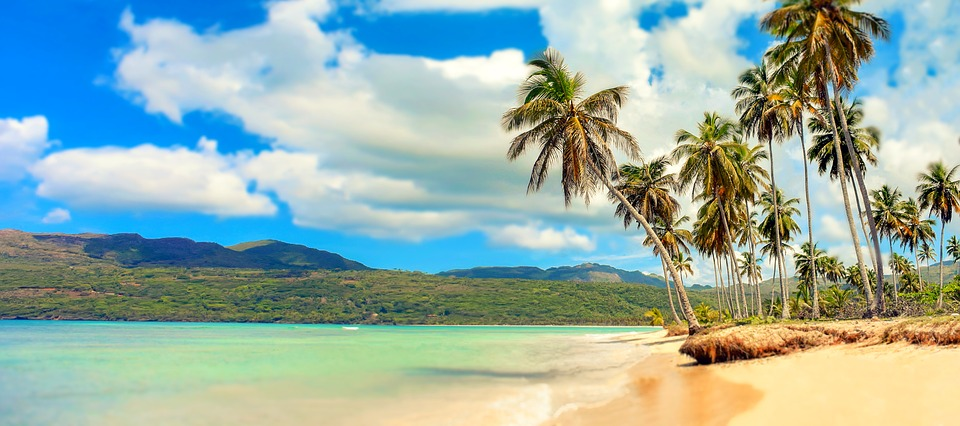 Hd Tropical Island Beach Paradise Wallpapers And Backgrounds: Beach Paradise Palm Trees · Free Photo On Pixabay