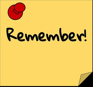 Recordatorio Gráficos vectoriales - Descarga imágenes gratis - Pixabay