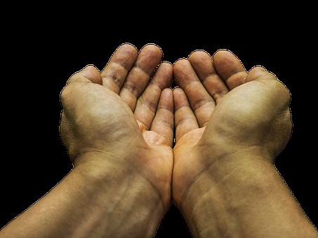 物ごい, 手, 貧しい, 希望, 慈善団体, 受信, 請う, 飢えた, 乞食