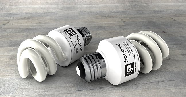 Sparlampe, Energy Saving, Bulbs, Pear