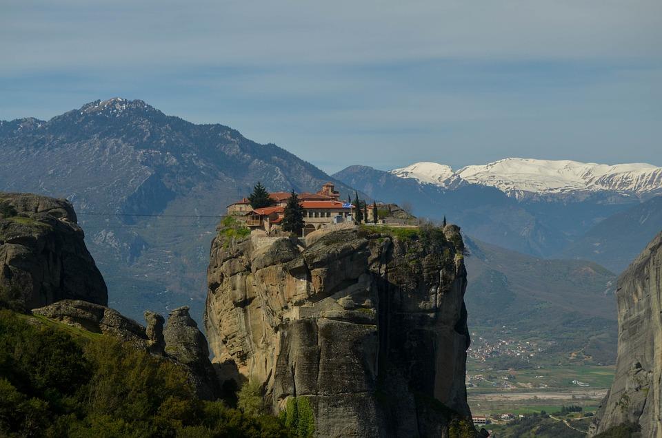 The Meteora monasteries in Greece 5