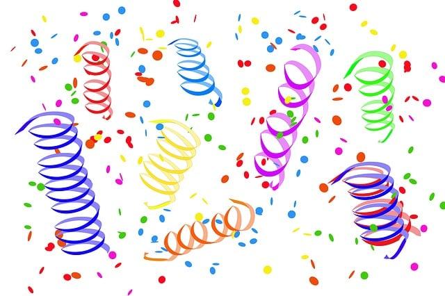 confetti streamer party free image on pixabay. Black Bedroom Furniture Sets. Home Design Ideas