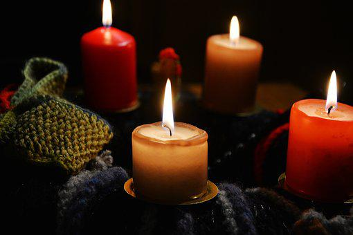 Candles, Advent Wreath, Advent