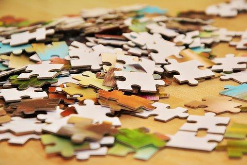 Elementy Układanki, Puzzle, Logiczne