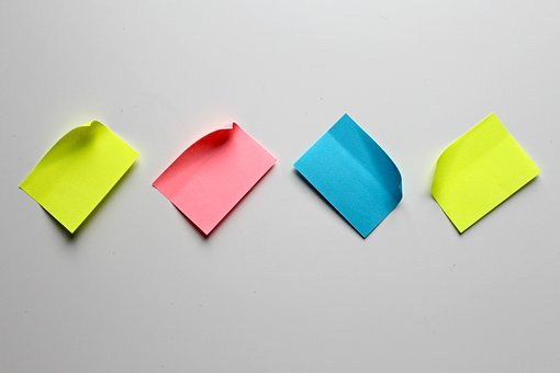 List, Sticky Notes, Note, Stickies