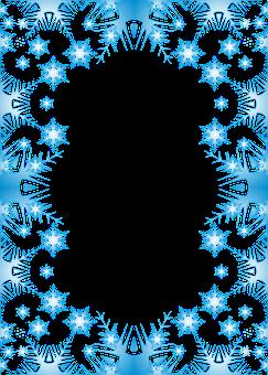 The Background Snow Snowflakes Winter