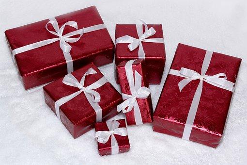 Weihnachtsgeschenke, Päckchen, Geschenke