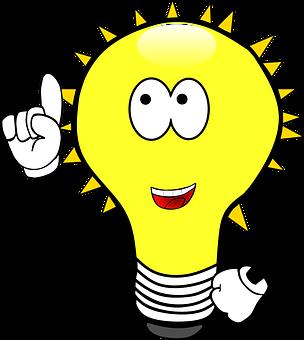 Light Bulb Idea Enlightenment Plan B