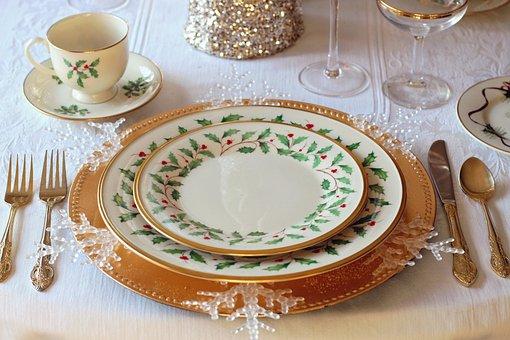Table De Noël, Dîner De Noël, Noël