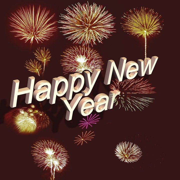 Font Lettering Happy New Year · Free photo on Pixabay