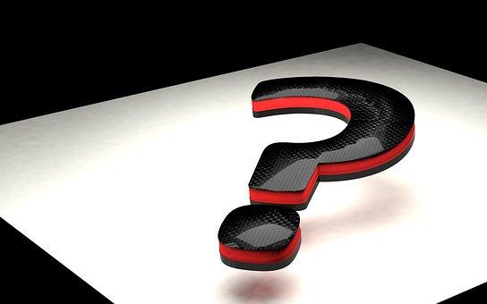 疑問符, 3 D, フォント, 問題, シンボル, 質問, パズル