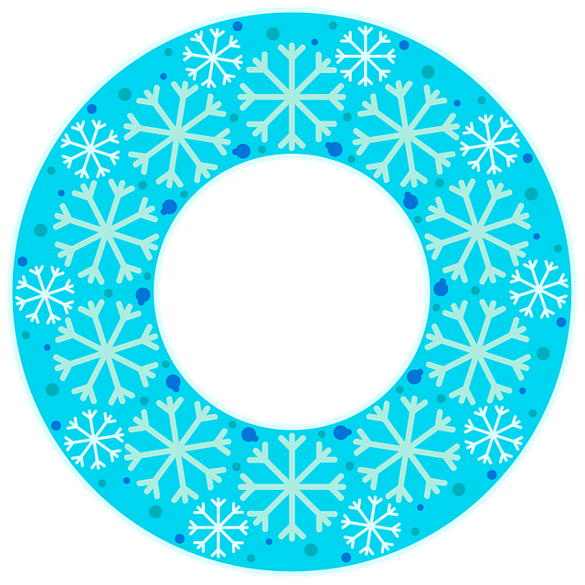 Картинка снежинки для надписи