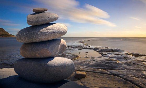 Feng Shui, Zen, Stones, Texture