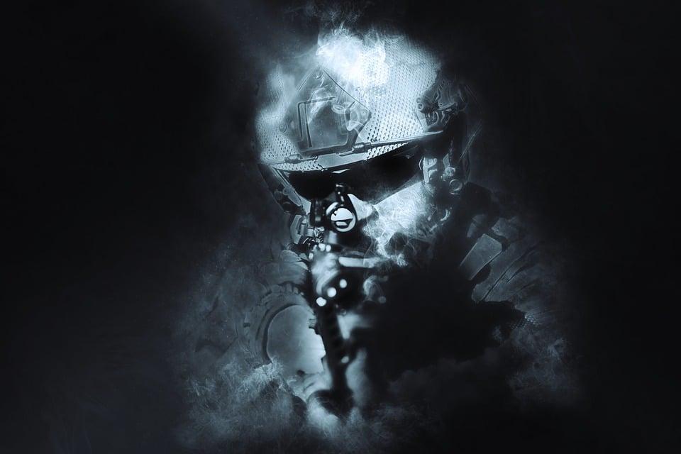 Prajurit, Perang, Militer, Senjata, Kamuflase, Senapan