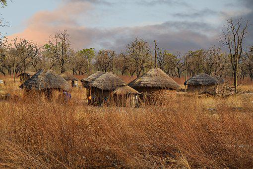 Ghana, West Africa, Africa, Village