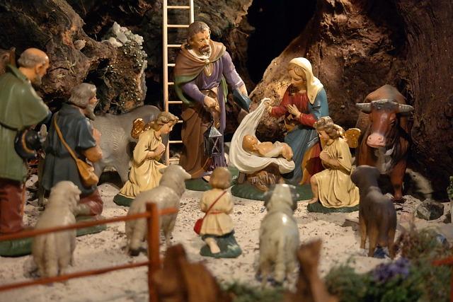 free photo  christmas  crib  nativity scene