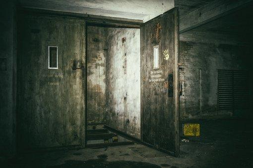 失われた場所, ケラー, エレベーター, 地下, 暗い, 奇妙な, 気分