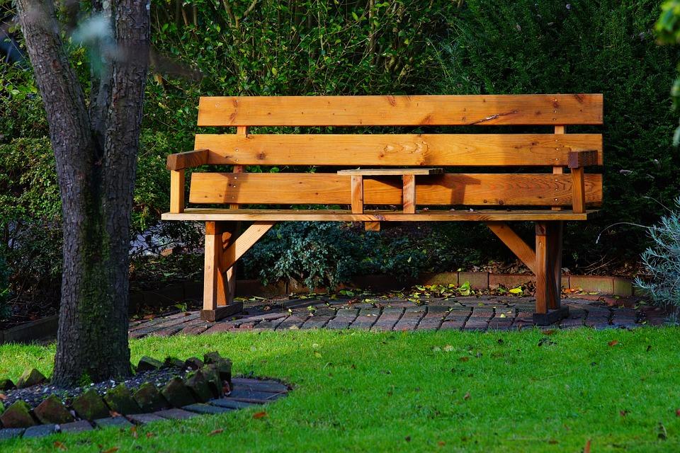Garten Holzbank Gemütlich Kostenloses Foto Auf Pixabay