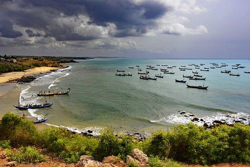 Senya Beraku Ghana West Africa Africa Ocea