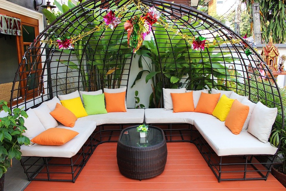 Seating, Patio, Furniture, Outdoor, Home, House, Garden Part 90