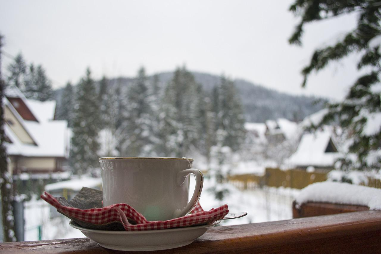 хлопать чаепитие в городе зимой фото ярким событием жизни