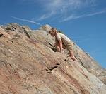 child, girl, climb