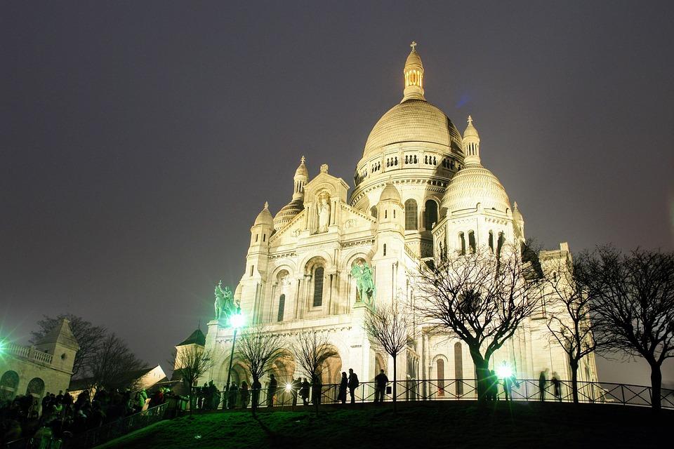 Paris, Sacre Coeur, Church, Montmartre, Sacré Coeur