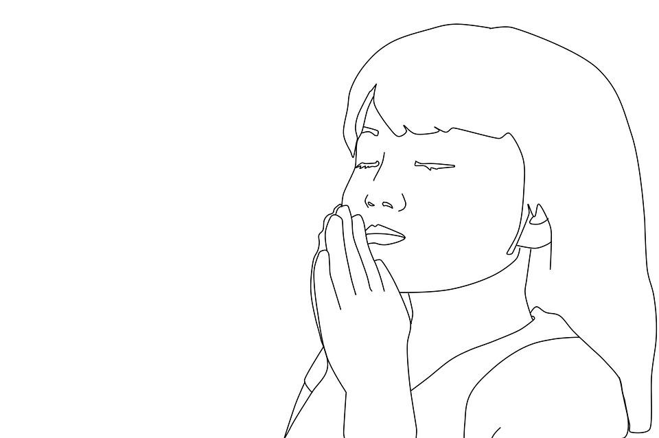 Girl praying coloring pages for Praying boy coloring page