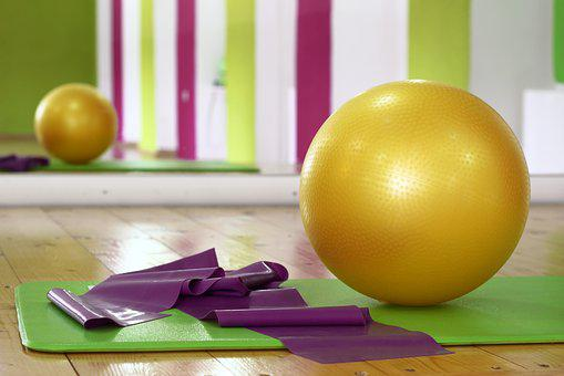 Workout Ball Pilates Fitness Gym Training