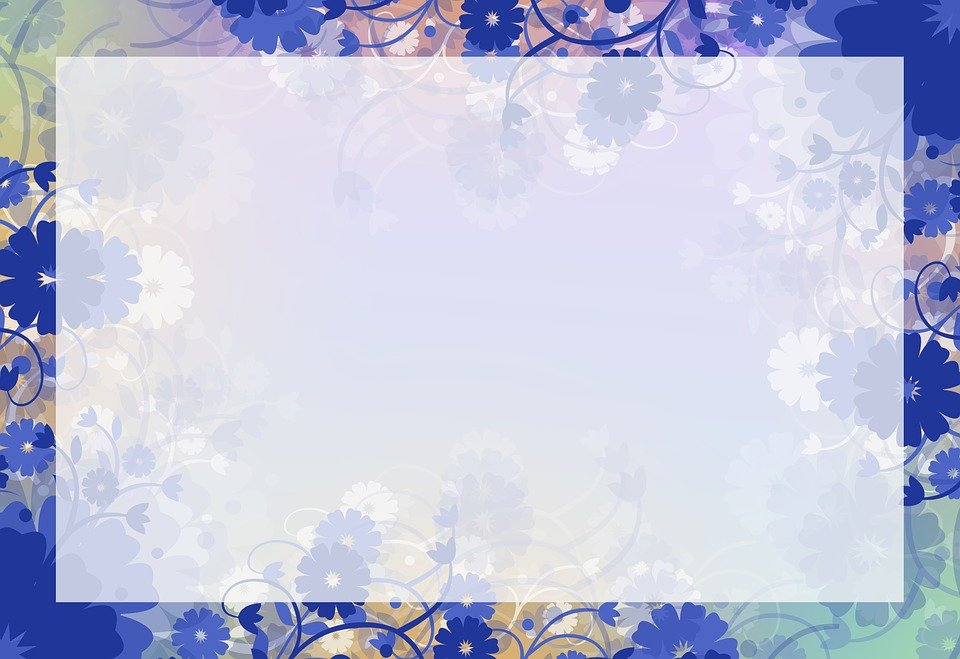 Free Illustration Background Floral Background Free