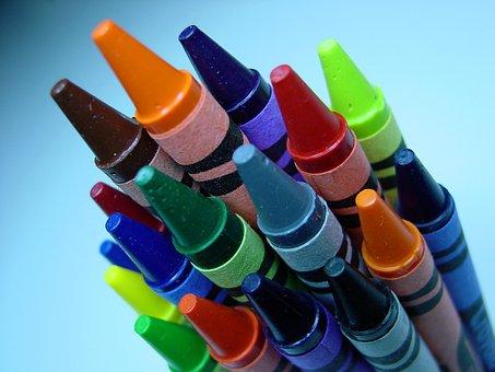Crayons, Crayola, Coloring, Color